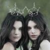 Fairy Queen Gold Crowns - Chantal Mallett Wedding Accessories